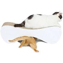 Когтеточка (дряпка) - лежанка для кошек AC-B (67х20х24см)