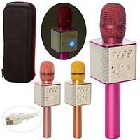 Бездротовий караоке мікрофон Bluetooth динамік Q9, фото 1