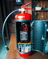 Оригинальный подарок - Огнетушитель с баром внутри - с Любой Надписью
