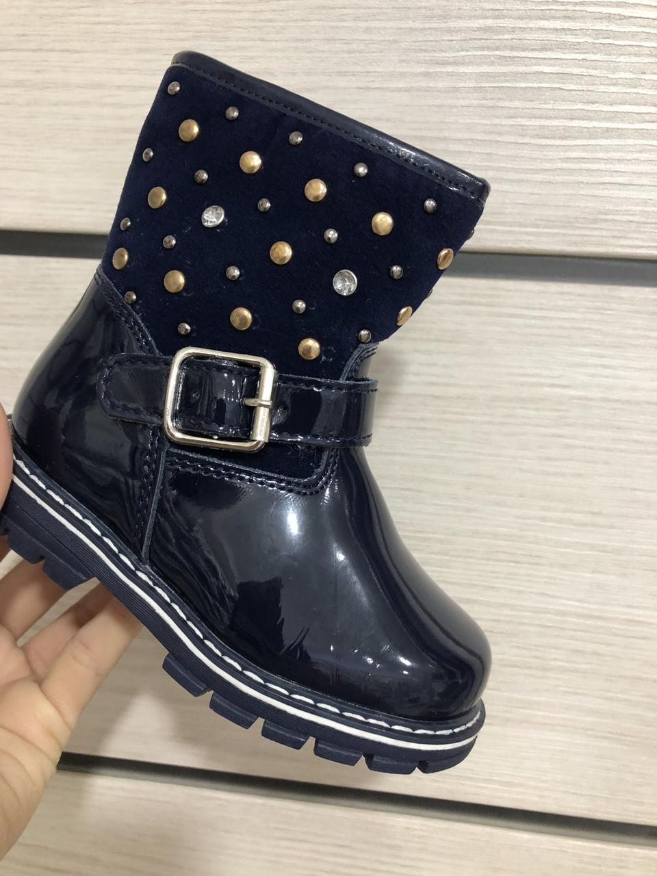 Зимние ботиночки для девочки Clibee (размеры 22,23,24,25,27)
