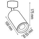 LOZAN Світильник під лампу MR16/JCDR колір білий, фото 3