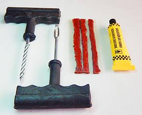 Комплект для ремонта бескамерных шин ZIRY 4 pcs, black