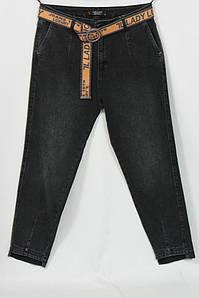 Турецкие женские черные джинсы больших размеров 48-64