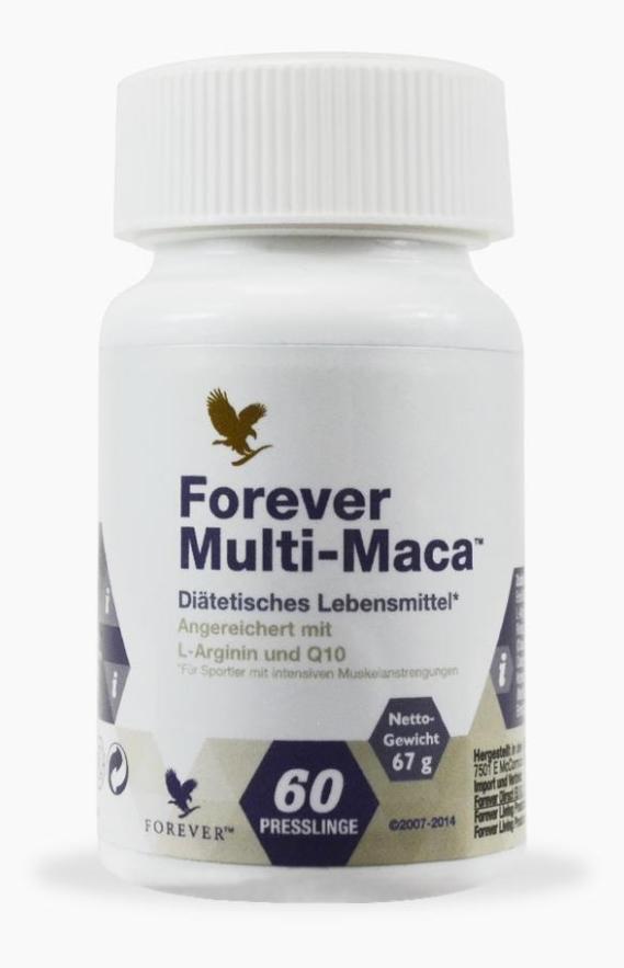 Forever Multi-Maca (Форевер Мульти-Мака) - капсулы для повышения энергетического потенциала