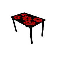 Скляний стіл Монарх Каркаде