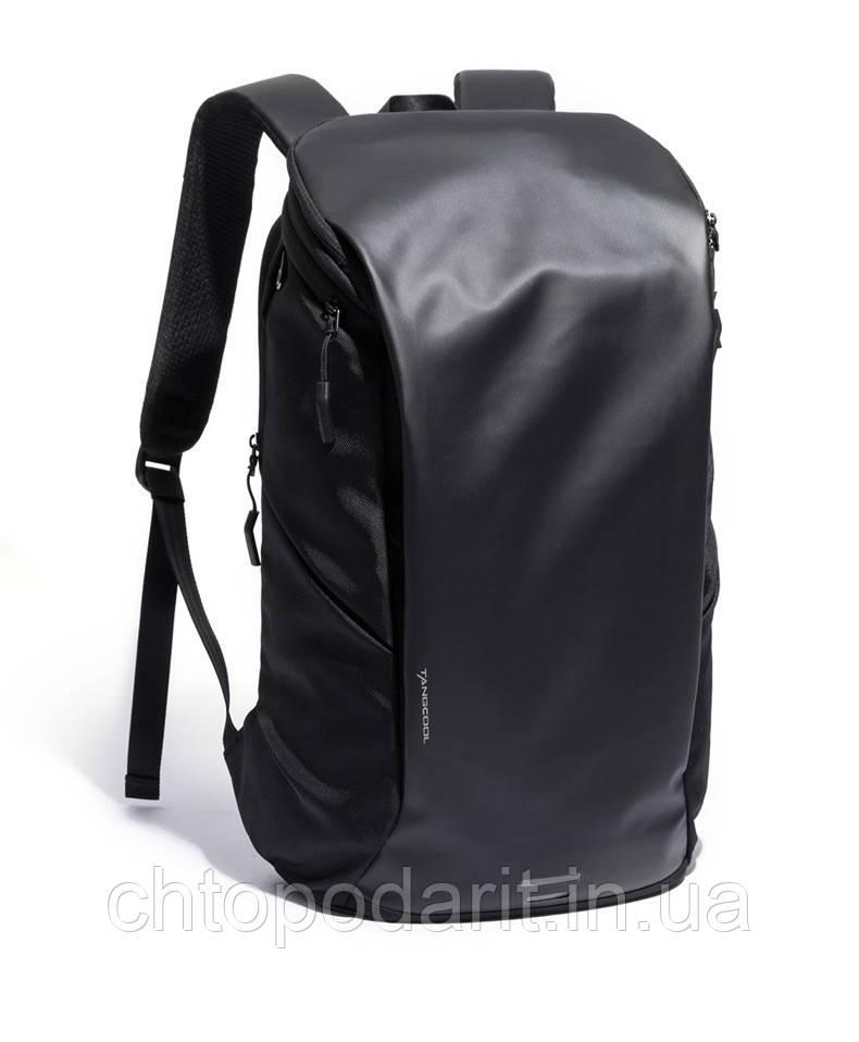 Дорожній рюкзак Tangcool високоякісний міський рюкзак чорний Код 15-0046