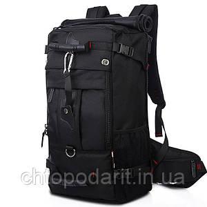 Туристический рюкзак - сумка Kaka дорожный для путешествий чёрный Код 15-0092