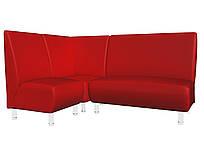 Кутовий диван для кафе Актив 130*190*90h