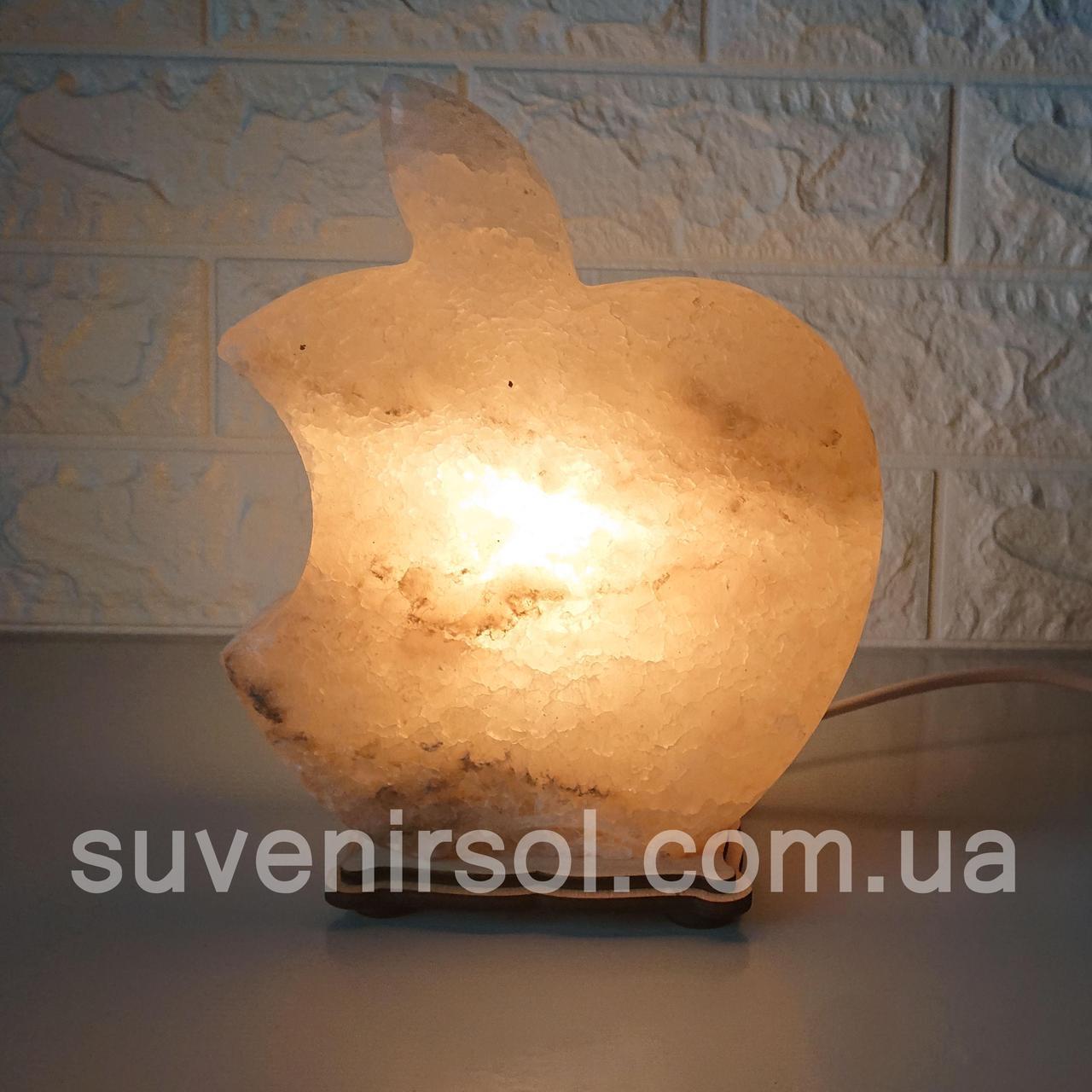 Соляной светильник Apple большой
