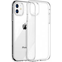 Чехол для iPhone 11 силиконовый бампер прозрачный