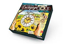 Настенные часы Decoupage Clock, набор для творчества DKC-01-09 (Подсолнухи)