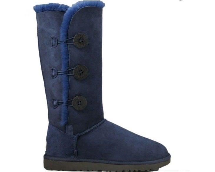 """UGG BAILEY BUTTON TRIPLET II BOOT """"NAVY"""" Арт. 0577"""