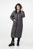 Зимняя куртка М0054 ( Графит), фото 1