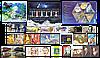 2009 год комплект художественных марок