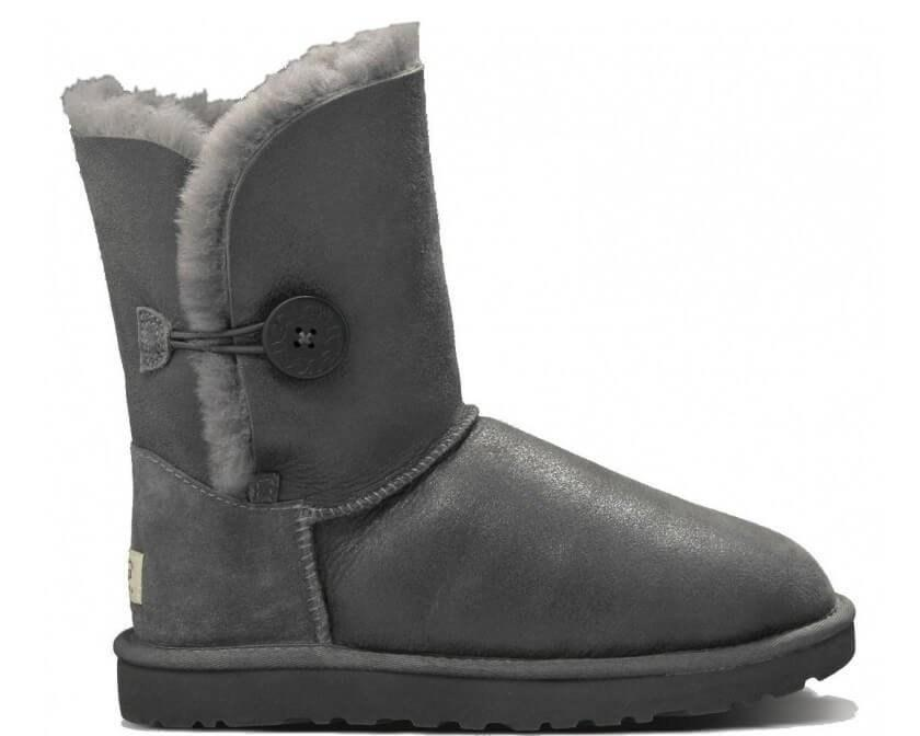 "UGG BAILEY BUTTON II BOOT LEATHER ""SEAL"" Арт. 0364"