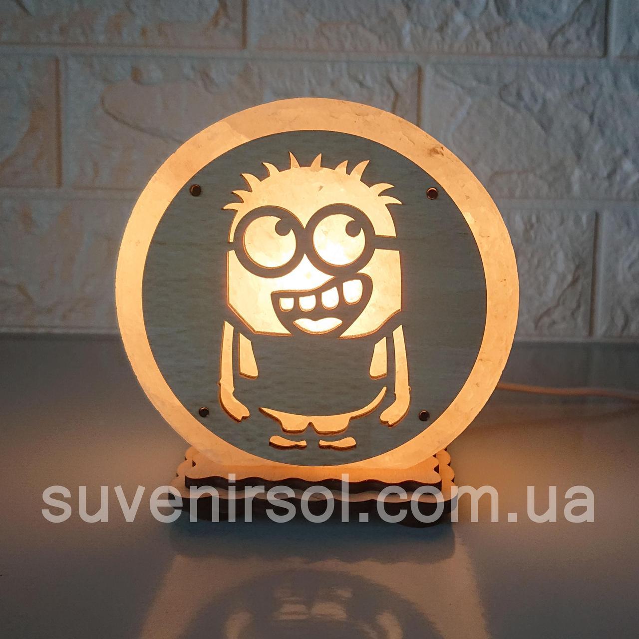 """Соляная лампа круглая маленькая """"Миньон 1"""""""
