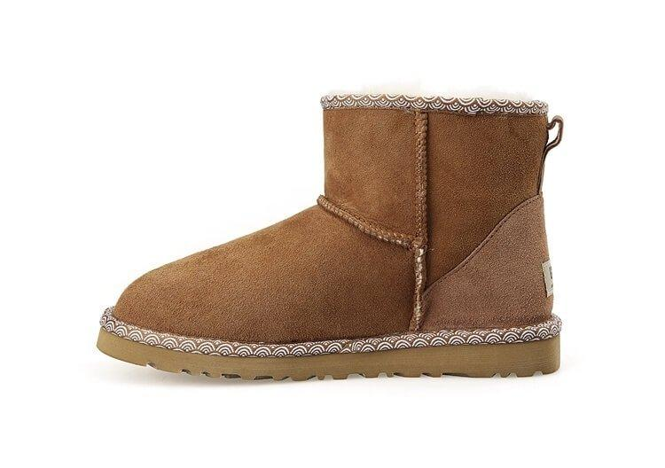 "Жіночі уггі UGG CLASSIC MINI II BOOT LIBERTY ""CHESTNUT"""