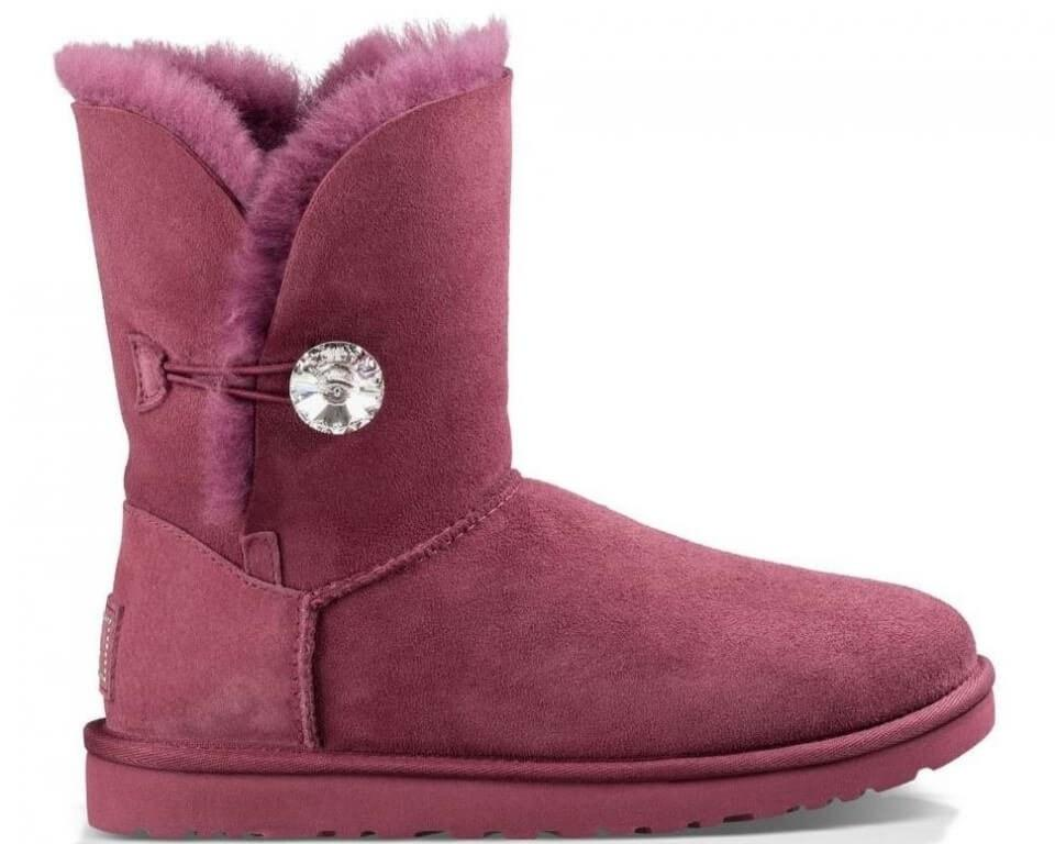 "UGG BAILEY BUTTON II BLING BOOT ""BORDO"" Арт. 1044"
