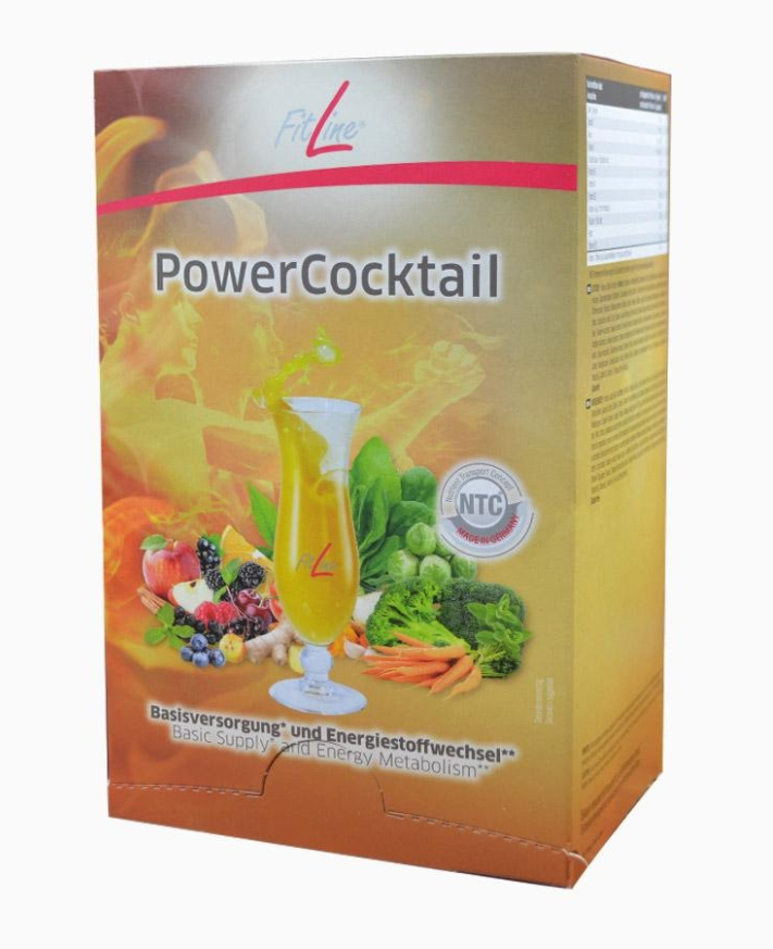 Fitline PowerCocktail (Фитлайн Пауер Коктейль) - капсулы для повышения энергии и концентрации