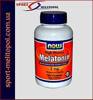 NOW Melatonin 5 мг 180 капс.