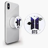 Попсокет (Popsockets) тримач для смартфона БТС (BTS) (8754-1095)