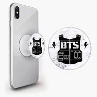 Попсокет (Popsockets) тримач для смартфона БТС (BTS) (8754-1096)