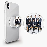 Попсокет (Popsockets) тримач для смартфона БТС (BTS) (8754-1098)