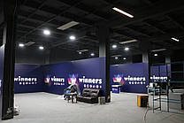 Зональное отопление помещения для проведения турниров по настольному теннису 3