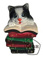 """Копилка """"Котик на книжках"""""""