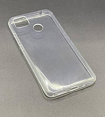 Чехол на Xiaomi Redmi 9C прозрачный силиконовый  ультратонкий бампер/ накладка