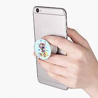 Попсокет (Popsockets) тримач для смартфона БТС (BTS) (8754-1066)