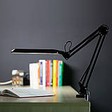 Світлодіодна лампа настільна ЕВРОСВЕТ Ridy-09 9Вт чорна, фото 4