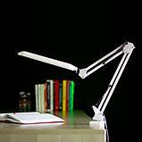 Настольная светодиодная лампа ЕВРОСВЕТ Ridy-09 9Вт белая, фото 5