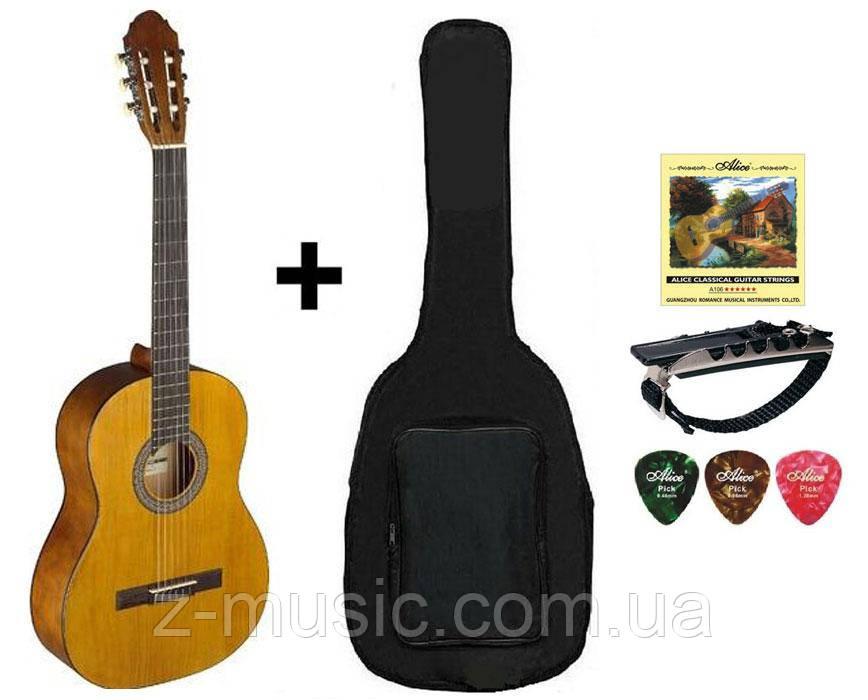 Гитара классическая Stagg С440 M NAT (комплект)