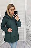 Женская куртка плащевка на 200 силиконе размер: 42, 44, 46, 48, фото 2