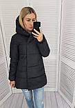 Женская куртка плащевка на 200 силиконе размер: 42, 44, 46, 48, фото 3