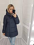 Женская куртка плащевка на 200 силиконе размер: 42, 44, 46, 48, фото 4