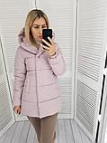 Женская куртка плащевка на 200 силиконе размер: 42, 44, 46, 48, фото 5
