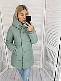 Женская куртка плащевка на 200 силиконе размер: 42, 44, 46, 48, фото 8