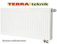 """Радіатор опалення сталевий """"TERRA TEKNIK"""" ТИП 22 500*900 нижнє підключення"""