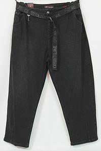Турецкие женские черные джинсы больших размеров 56-64