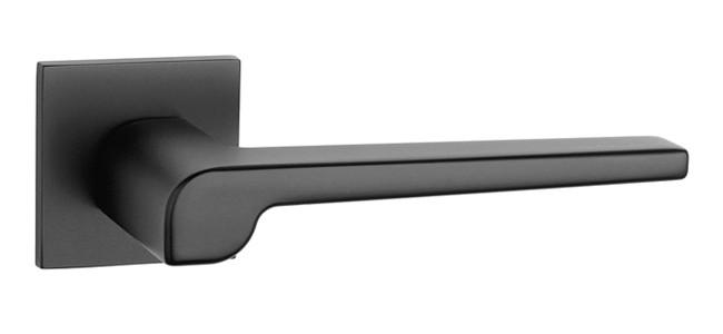 Ручка дверная на розетке Aprile Magnolia Q 5S черный (Португалия)