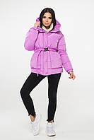 Зимняя куртка М0050 ( Лиловый ), фото 1
