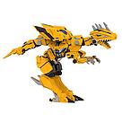 """Робот трансформер """"Dragon force"""" (Желтый) трансформируется в динозавра    , фото 2"""