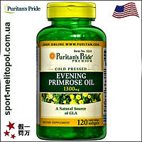 Puritans Pride Evening Primrose Омега-6 + GLA 100 softgels