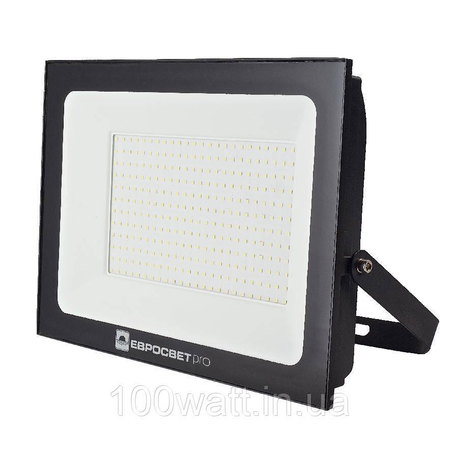 Прожектор світлодіодний ЕВРОСВЕТ 200Вт 6400К EV-200-504 PRO 18000Лм