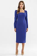 Женское синее платье Асель д/р, фото 1