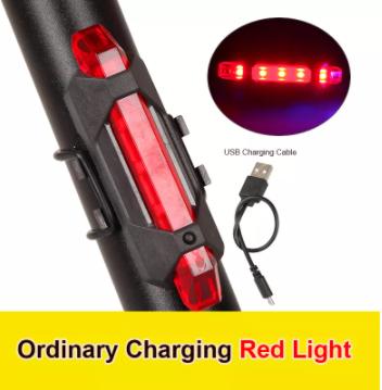 Стоп сигнал на велосипед USB фара задняя мигалка, велофонарь, велофара