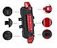 Стоп сигнал на велосипед USB фара задняя мигалка, велофонарь, велофара, фото 3