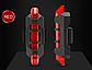Стоп сигнал на велосипед USB фара задняя мигалка, велофонарь, велофара, фото 4